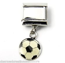DIY Custom Photo Soccer Ball 9mm Italian Charm Picture Modular Dangle Link