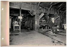 Vintage 1930s  B&W Photo West Bend WI Cannery Receiving Room