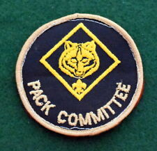 BOY SCOUT ADULT POSITION PATCH - PACK COMMITTEE