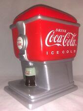 Vintage Coca Cola Coke Soda Fountain Cookie Jar Gibson Stoneware 2003 in Box VGC