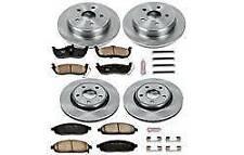 ✅Power Stop KOE2220 Front / Rear Brake Rotor Pad Kit for Jeep Commander Cherokee