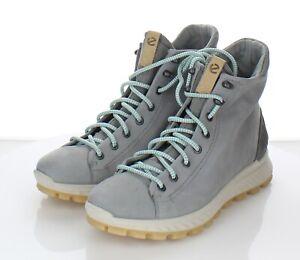 06-27 $200 Women's Size 39 EU Ecco Exostrike Hydromax Boot in Wild Dove Grey