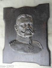 ORIGINALE di Hindenburg muro Relief firmato BOMMER