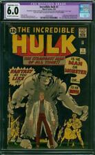 Hulk #1 CGC 6.0 (R) Marvel 1962 1st Hulk! Avengers! Key Silver Age! L3 141 cm