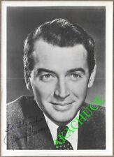 JAMES JIMMY STEWART Autographed Inscribed Photo c1950 REAR WINDOW Vertigo HARVEY
