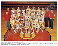 1961-62 OHIO STATE BUCKEYES BASKETBALL FINAL FOUR 8 X10 PHOTO LUCAS HAVLICEK