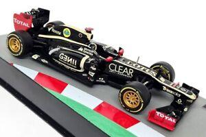 Atlas 1/43 Scale - Lotus E20 2012 Kimi Raikkonen Diecast Model F1 Car