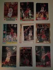 Michael Jordan Non Auto 9-Card Lot Chicago Bulls Lebron James North Carolina
