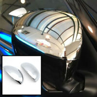 Fit For Nissan Juke 2011 2012 2013 2014 Chrome Side Mirror Covers Cap Trim 2pcs