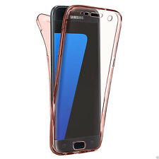 Shockproof 360° Full Silicone Case Cover For Samsung Galaxy S8 Plus S7 Edge