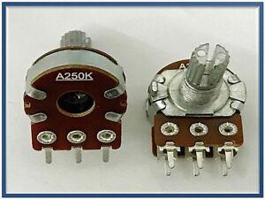 AJ02 ART potenziometri monogiro doppio Potenziometro STEREO LINEARE 5K