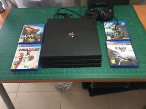 Sony PS4 PRO 1TB Black Console