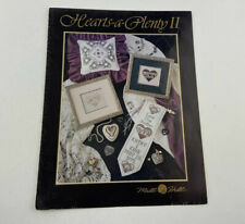Mill Hill Hearts A Plenty II Two Cross Stitch Pattern Booklet