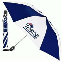 New England Patriots Regenschirm Automatic Pocket Umbrella,NFL Football,Neu