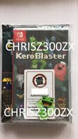 Kero Blaster Limited Edition Nintendo Switch + Soundtrack Physical Region Free