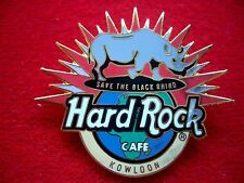 HRC Hard Rock Cafe Kowloon Save the Black Rhino 1997 LE