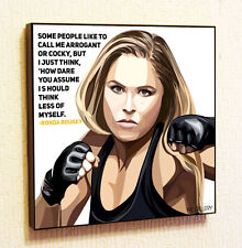 Ronda Rousey UFC MMA Fights Painting Decor Print Wall Poster Canvas Decals