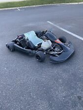 Used. Complete Go Kart Crg Blackstar w/ Rotax Max jr 125fr