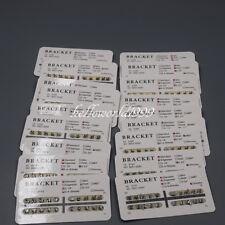 30 Set Dental Brackets Mini Roth Slot022 Hooks 3 Orthodontic Metal Brace 20xpk