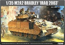 Academy 1/35 13205 M2A2 BRADLEY Iraq 2003 Military Plastic Model Kit Tank NIB