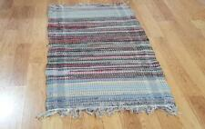 Vintage Country Runner Rag Rug Style Hand Loomed