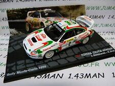 voiture 1/43 IXO Altaya Rallye TOYOTA Celica GT-four Monte Carlo 1995 Kankkunen