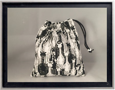 Gymnastics Leotard Grip Bags / Black and White Zebra Gymnast Birthday Goody Bag