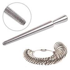 Bijouteries 3mm A-Z moitié taille annulaire mesure Sizer jauge de fabrication de bijoux 6