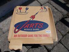 Vintage Original Jarts  Missile Game set