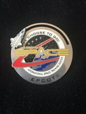 Epcot Mission Space~We Choose To Go!~International Space Trainning Center Pin