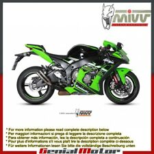 Mivv Exhaust Muffler Double Gun Titanium for Kawasaki Zx-10 R 2016 > 2018