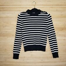 Arket Striped Breton Nautical Jumper Sweater sz XS