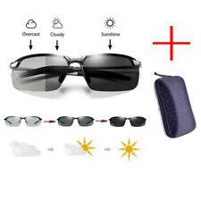 Polarisierte Sonnenbrille Fahren Brillen UV400 Selbsttönende Mit Brillenetui DHL