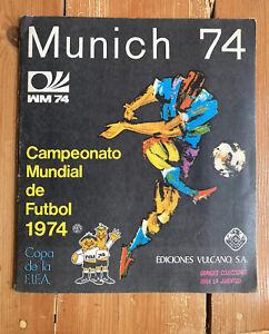 Munich 74 (1974) Munchen. World Cup Panini Sticker Album. 100% COMPLETE. *VGC*