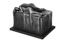 artistique URNE ANGE AU REPOS crémation enterrement pour adulte fait à la main