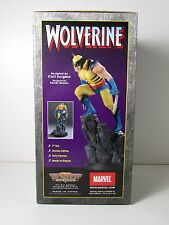 2001 BOWEN DESIGNS WOLVERINE PAINTED 7 INCH STATUE SMALL SCALE VERSION