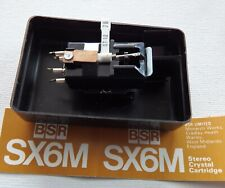 BSR SX 6 M Tonabnehmer System - mit Original ST 12 Nadel - in OVP / NOS
