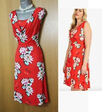 Studio 8 Phase Eight Saskia Floral Print Silky Stretch Jersey Dress UK18  46 £99