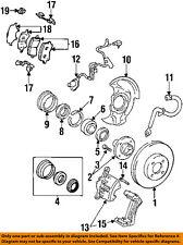 GM OEM Brake-Front-Bearing Snap Ring 94846349