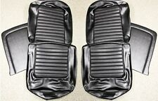 NEW! 1964-1965 Ford Mustang Seat covers Upholstery Buckets Black Convertible Set