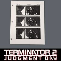 TERMINATOR 2 Production Used Storyboard, T-1000 Heals in Front of Sarah