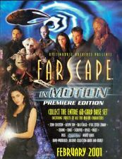 Rittenhouse - Farscape In Motion Trading Card Promo Sell Sheet & Promo Card P1