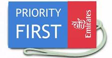 Novelty Emirates Priority first Airline Luggage Crew Tags -