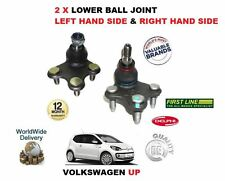 FOR VOLKSWAGEN VW UP 1.0 2012 >NEW 2 X RIGHT+ LEFT SIDE LOWER BOTTOM BALL JOINT