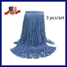 3 Mops Heads Cotton Absorbent Cleaning Supplies Mop Heads Set Sale