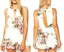 Unbranded Floral Chiffon Jumpsuits, Rompers & Playsuits for Women
