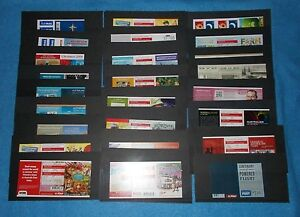 AUSTRALIA & CHRISTMAS ISLAND MINT STAMP BOOKLETS - SELECT BOOKLET