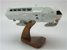 Moonbus Space Odyssey 2001 Spacecraft Kiln Wood Model Small New
