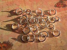 100 7mm Silver Plated Jump Rings Lead/Nickel Free 18G Buy2,Get1 Free