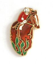 Horse racing equestrian  Enamel Tie or Lapel Pin Badge NEW 1st Class POSTAGE